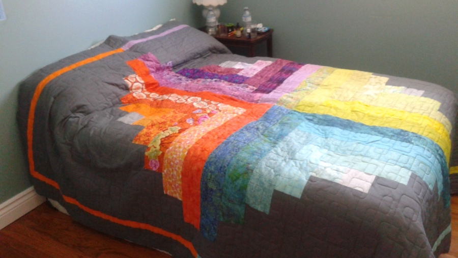 Quilt Challenge Results: Singin' in theRain