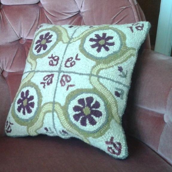 Truchet Tiles Cushion